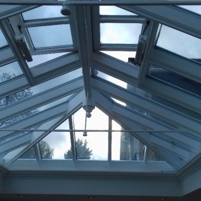 conservatory roof repaint