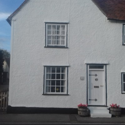 external of grade 2 listed cottage